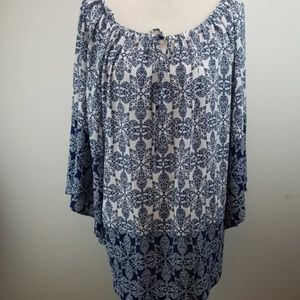 New Direction Flare Sleeve Top